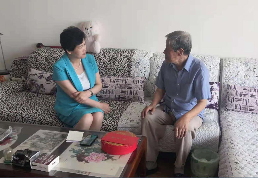 甘肃社会主义学院(甘肃中华文化学院)开展庆祝建党100周年走访慰问活动